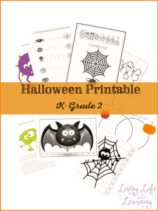 If you've been searching for a Halloween printable pack that your kindergarten to 2nd-gradechild can use, this is the one for you! Creative, fun and educational!