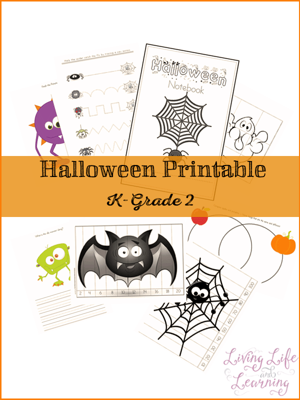Halloween Printable Pack for K to Grade 2