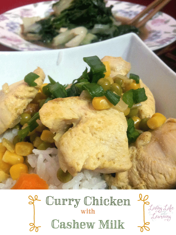 Chicken Curry with Cashew Milk Recipe