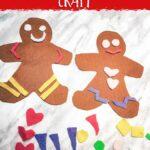 Felt Gingerbread Men Craft