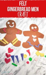 Felt Gingerbread Men Craft