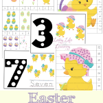 Try these Easter Counting Mats and get your kids excited about counting with these fun Easter themed counting activities your kids will love.