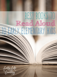 Great way to spend time together with your family, reading aloud to your kids brings your closer together while you learn from each other.