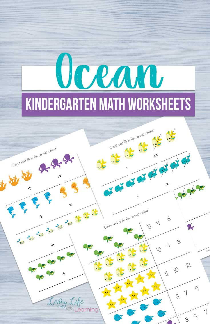 ocean math worksheets