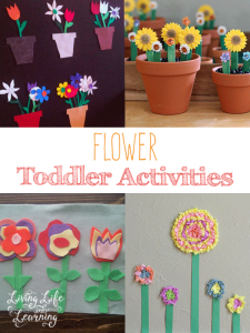 Have fun with your little one with these great flower toddler activities, make your own flower crafts to keep them inside and last forever, perfect for flower lovers.