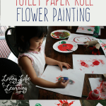 A fun and simple way to create pretty flowers with toilet paper rolls