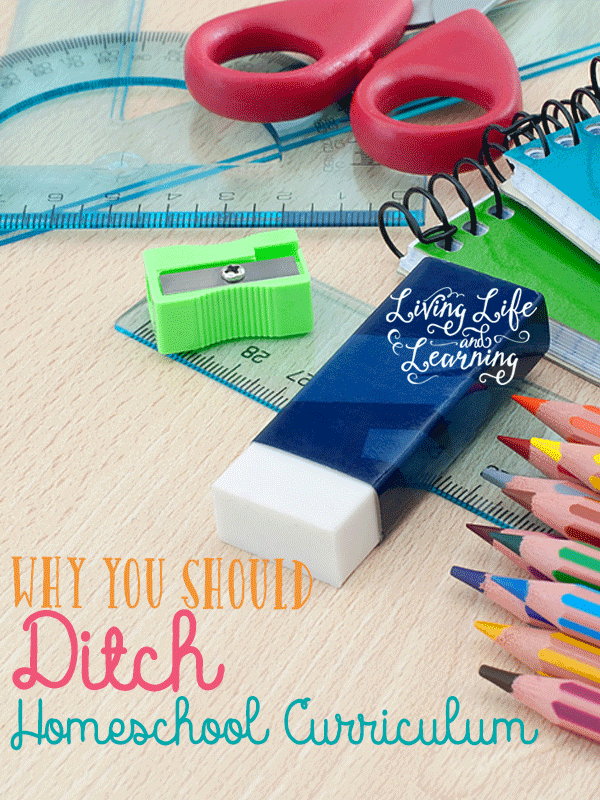 Can't find the perfect homeschool curriculum? Well there isn't one, have you thought about creating your own? Why you should ditch the homeschool curriculum