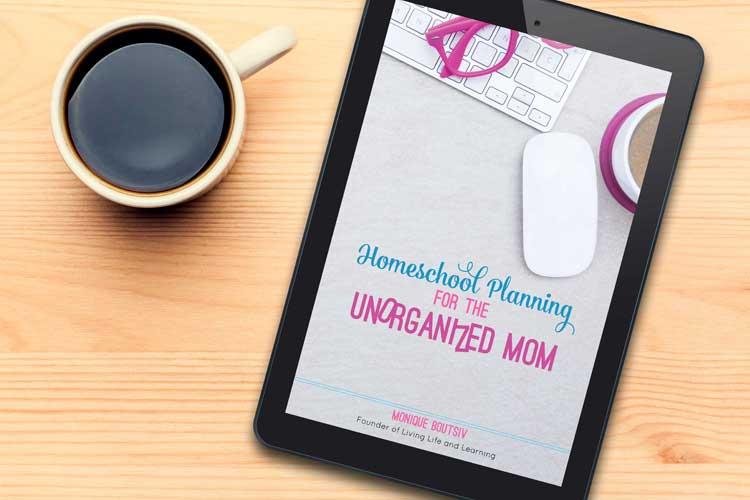 Homeschool Planning for the Unorganized Mom eBook