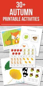 Autumn Printable Activities for Kids