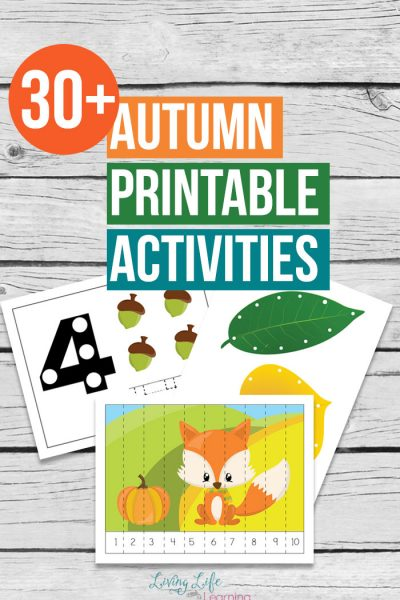 Autumn Printable Activities for Kids