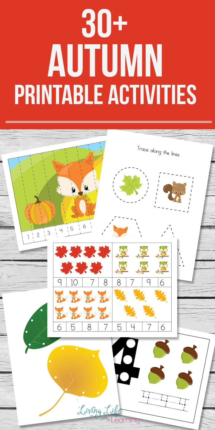 get into the autumn spirit with these fun printables for kids your kids will thank