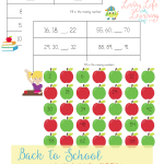 Grab these back to school math worksheets for 2nd grade to practice skip counting and comparing numbers, have fun with these math worksheets.