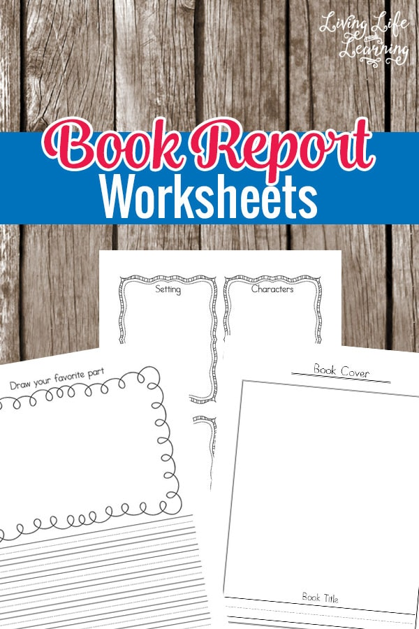 summarize your favorite books with these book report worksheets for kindergarten or grade 1 students