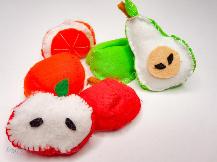 Felt Fruit Craft