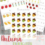 Even in Kindergarten, math can get boring! Use these Fall Kindergarten Math Worksheets to add a bit of excitement into your child's math lessons!