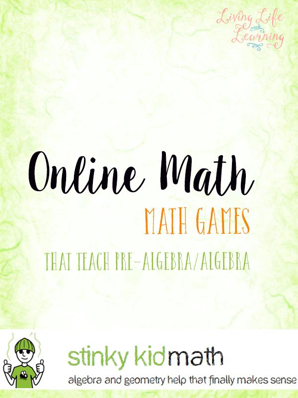 Online Math Games That Teach Pre-Alegebra and Algebra