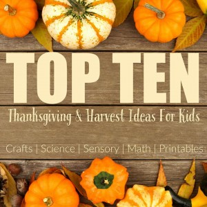 I've found 10 of the best Thanksgiving printables for preschoolers that you'll ever need. Well, they are pretty awesome.