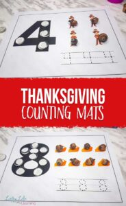 Thanksgiving Counting Mats