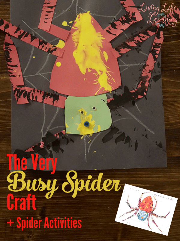 Try The Very Busy Spider craft to bring this book alive, these other spider books will inspire some wonderful spider activities for your kids