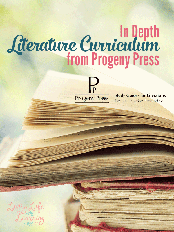 In Depth Literature Curriculum from Progeny Press