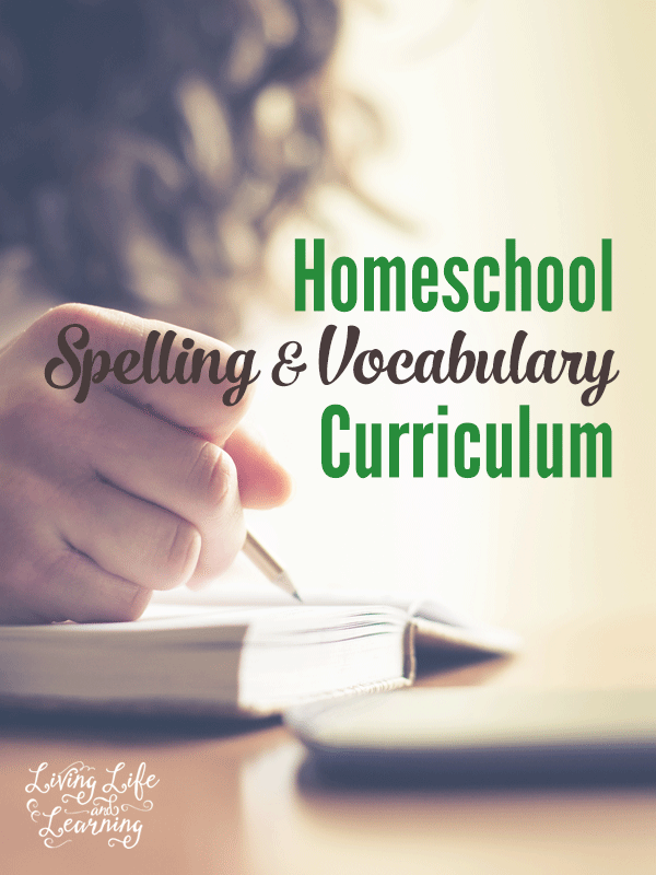 Do you need ideas for a homeschool spelling or vocabulary curriculum