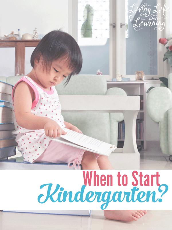 When is the best time to start homeschooling kindergarten?