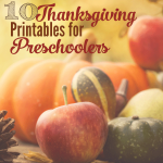 I've found the best Thanksgiving printables for preschoolers that you'll ever need. Well, they are pretty awesome. Aren't they awesome?!