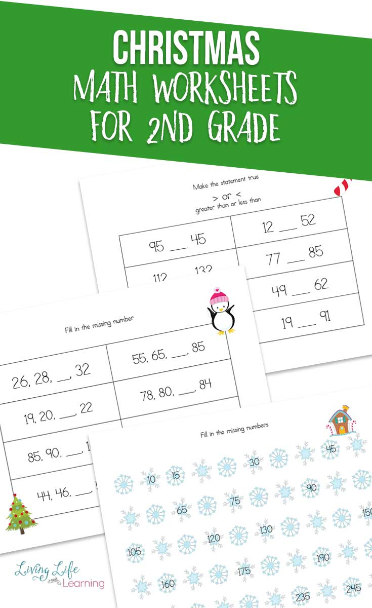 - Christmas Math Worksheets For 2nd Grade