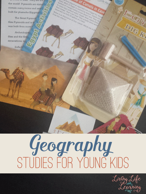 You're never too young to start learning geography