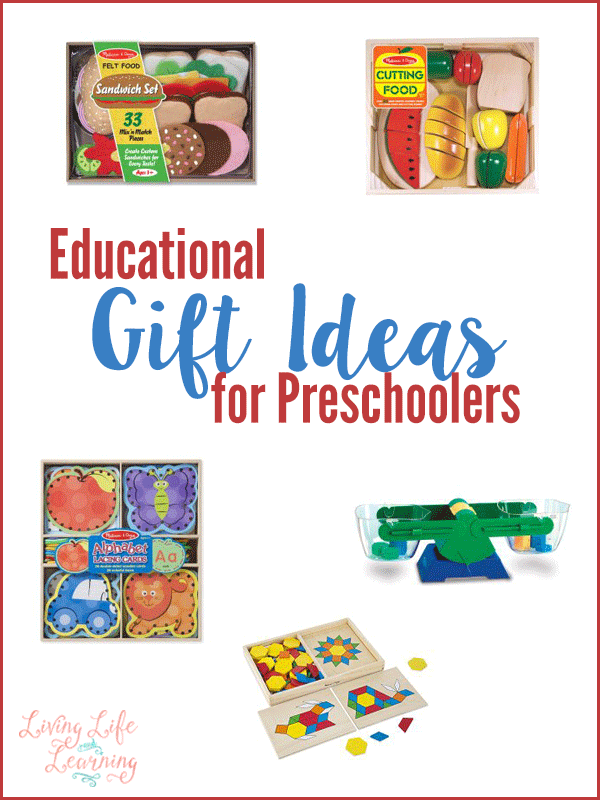 If you need suggestions for educational gift ideas for preschoolers, then look no further. Grab a toy that will encourage your child to use their imagination and learn.