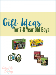 Don't know what to get? These gift ideas for 7-8 year old boys will give you a great list to go out and buy the best gift ever for your boys.
