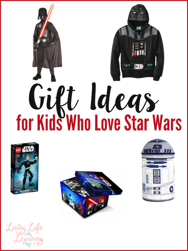 May the force be strong with you as you shop for your kids, just in case you need gift ideas for kids who love star wars