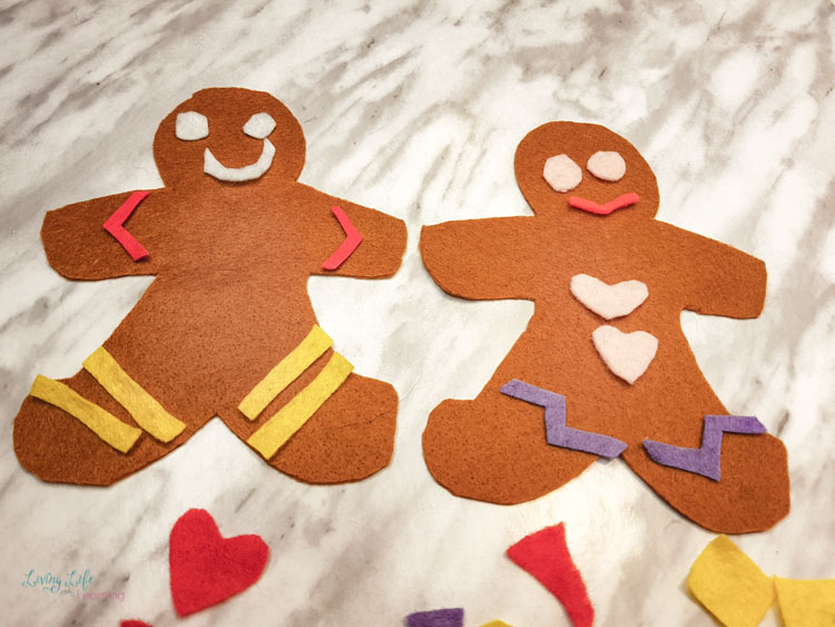 Felt Gingerbread Man Craft