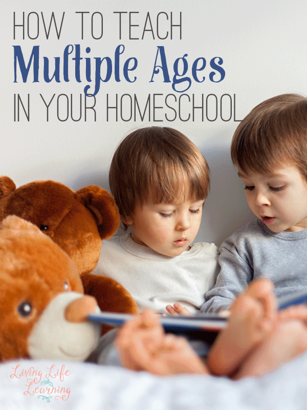 How to Teach Multiple Ages in Your Homeschool