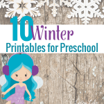 Winter Printables for Preschool