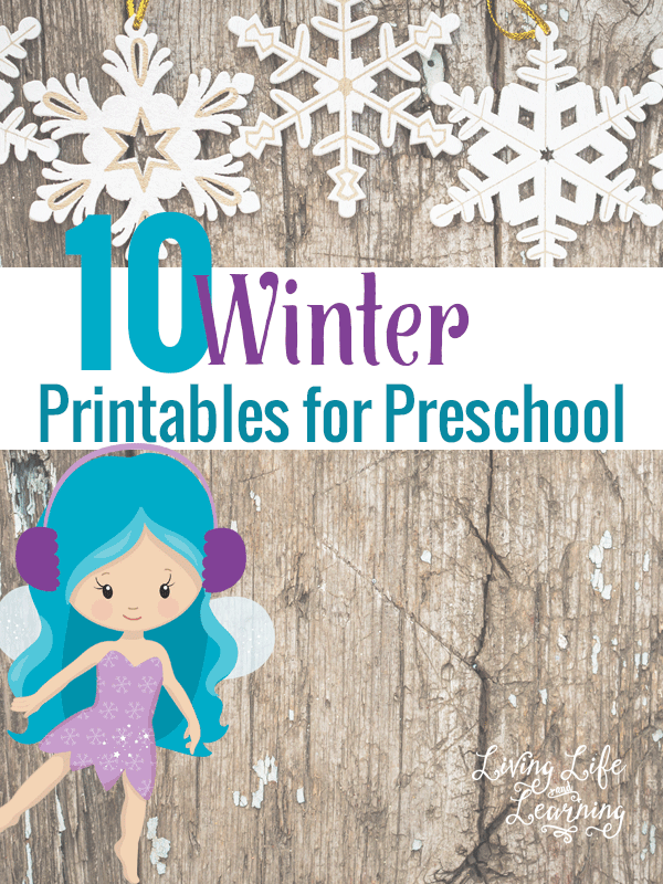 Have fun learning with these 10 winter printables for preschool and try one of these fun activities
