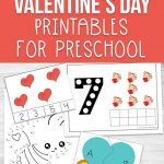 Infuse some love into your learning with these rockin Valentine's Day Printables for Preschool, my daughter is going to have a blast
