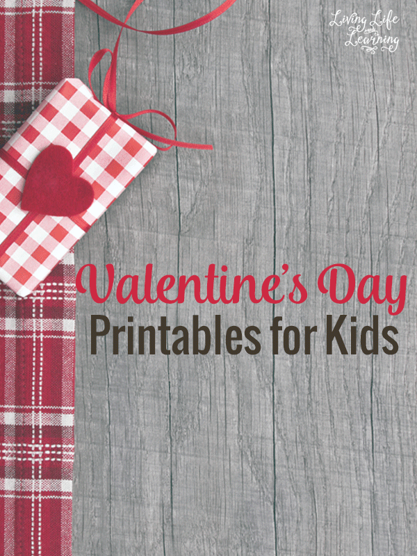 My kids love these Valentine's day printables for kids to add some new activities to our homeschool