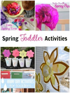 Have fun trying one of these spring toddler activities to make your little one happy and get outdoors to enjoy the beautiful spring weather.