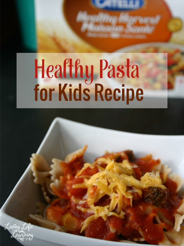 Healthy Pasta for Kids Recipe