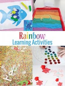 Rainbow Learning Activities