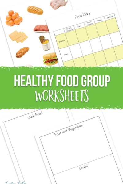 Healthy Food Group Worksheets