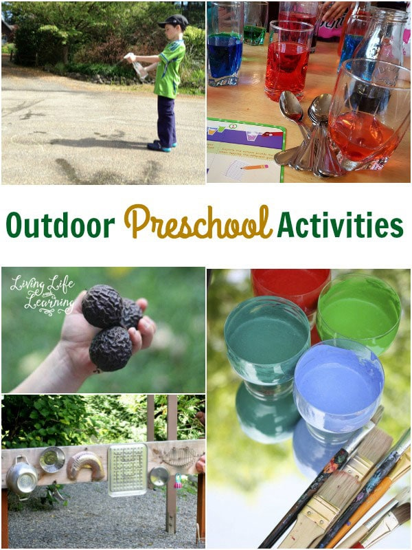Get outside to enjoy the sunshine with these outdoor preschool activities your kids will love.