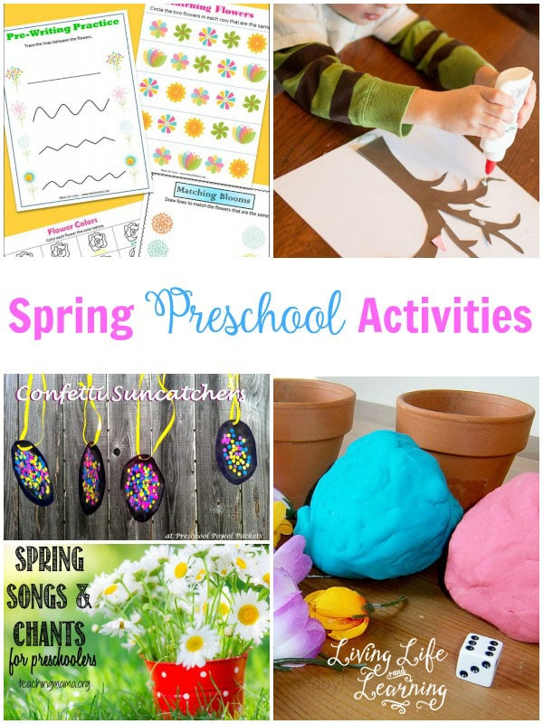 Get into the spring season with these fun spring preschool activities your kids will love
