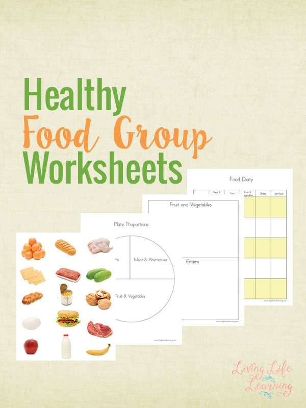 Healthy Food Group Worksheets – Healthy Food Worksheets