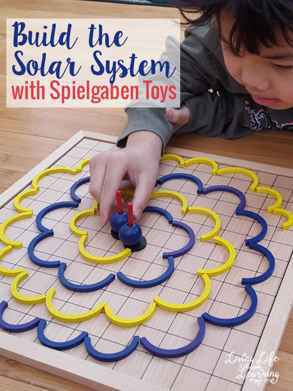 Learn about space and build your own solar system with Spielgaben toys, you can even create your own gravitational wave.