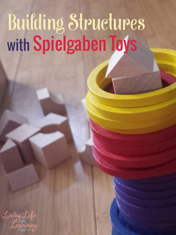 Get into science and build structures with Spielgaben toys - a versatile and learning toy that rocks