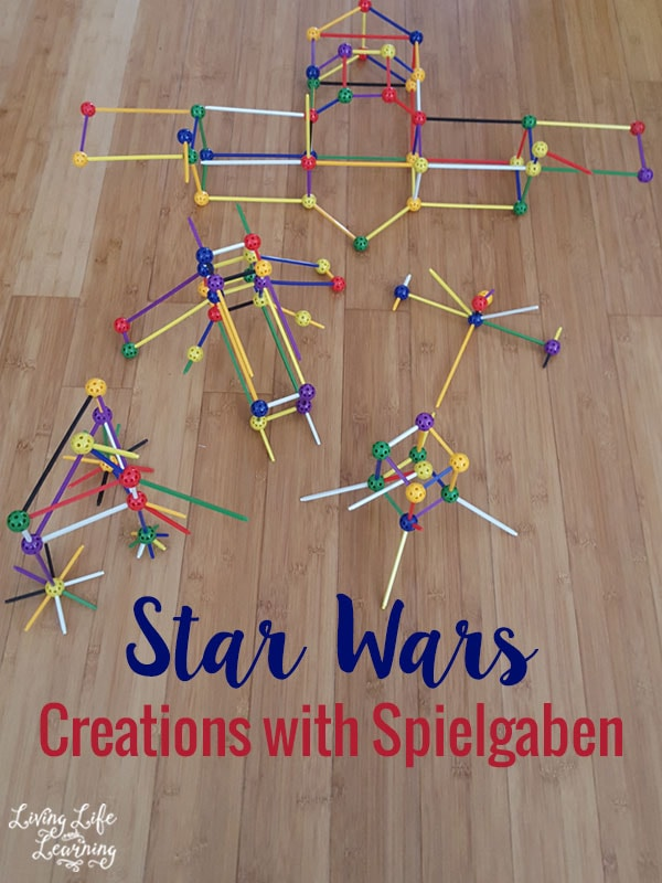 Let your imagination run wild and build your own Star Wars creations with Spielgaben.