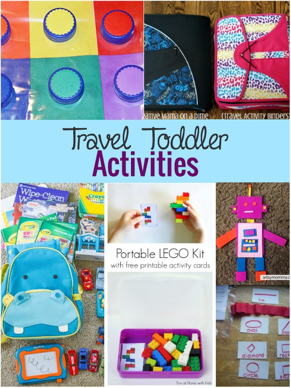Toddler Travel Activities