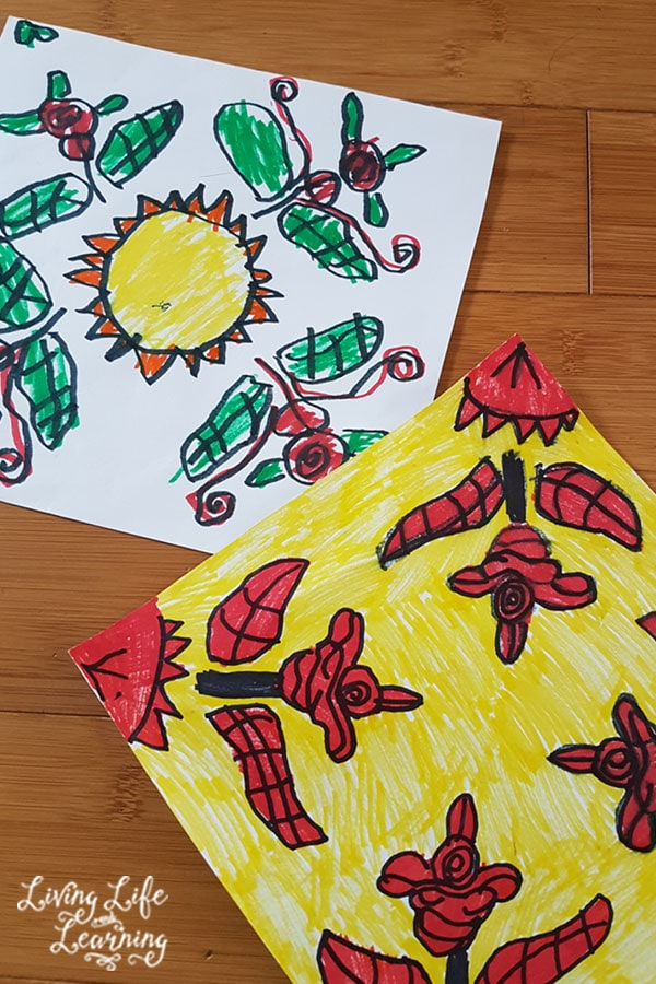 Art lessons in your homeschool